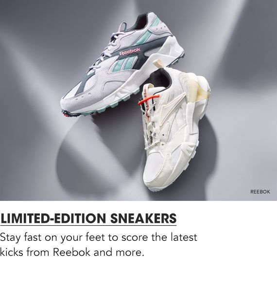 Shop Limited-Edition Sneakers