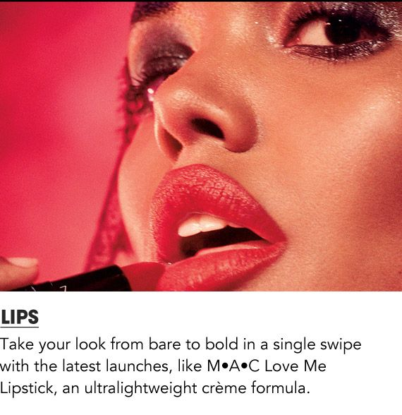 Shop New lip launches like MAC Love Me Lipstick