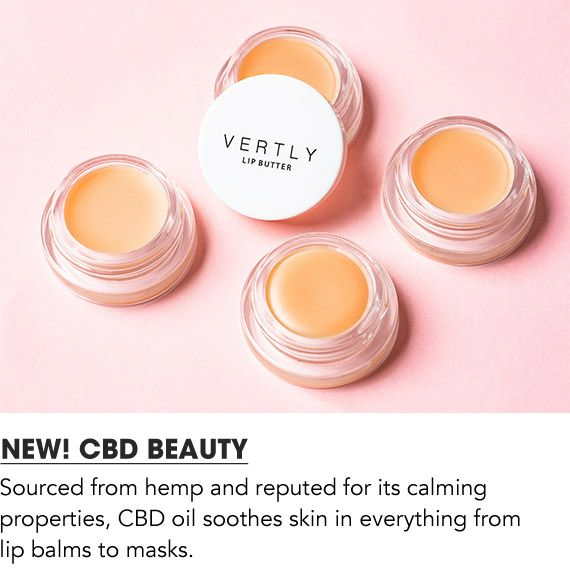 Sourced from hemp and reputed for its calming properties, CBD oil soothes skin in everything from lip balms to masks. Shop C B D beauty.
