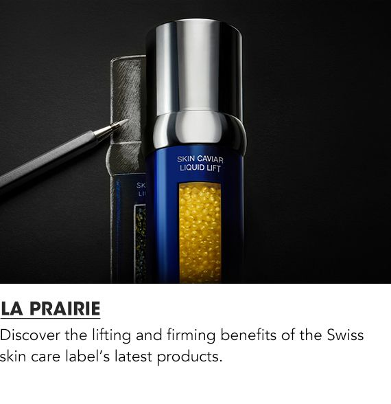 Discover the lifting and firming benefits of the Swiss skin care label's latest products. Shop La Prairie