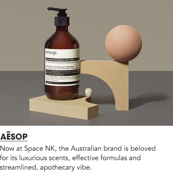 Now at Space NK, the Australian brand is beloved for its luxurious scents, effective formulas and streamlined, apothecary vibe.