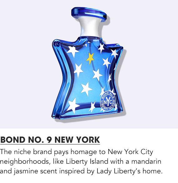 The niche brand pays homage to New York city Neighborhoods, Shop Bond Number nine New York.