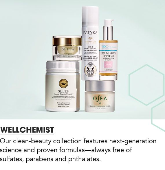 Our Clean-beauty collection features next-generation science and proven formulas, always free of sulfates parabens and phthalates. Shop Wellchemist.