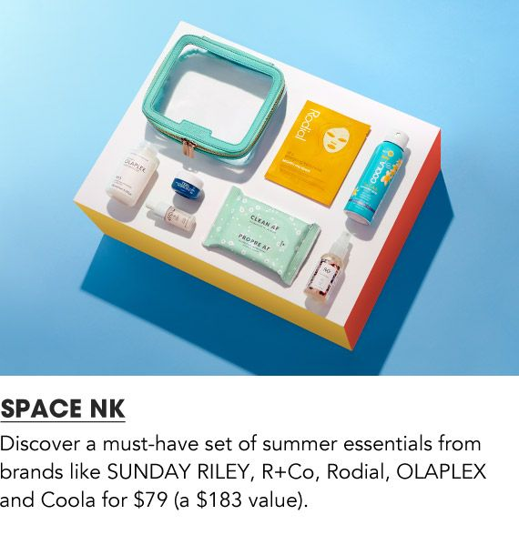 Discover a must have set of summer essentials from Space NK. Shop Space NK
