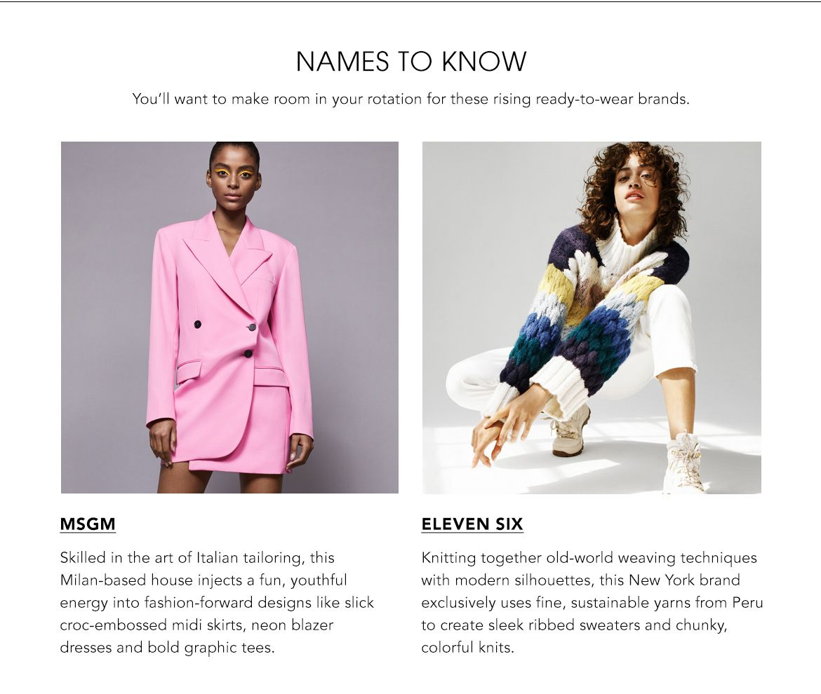 Names to Know