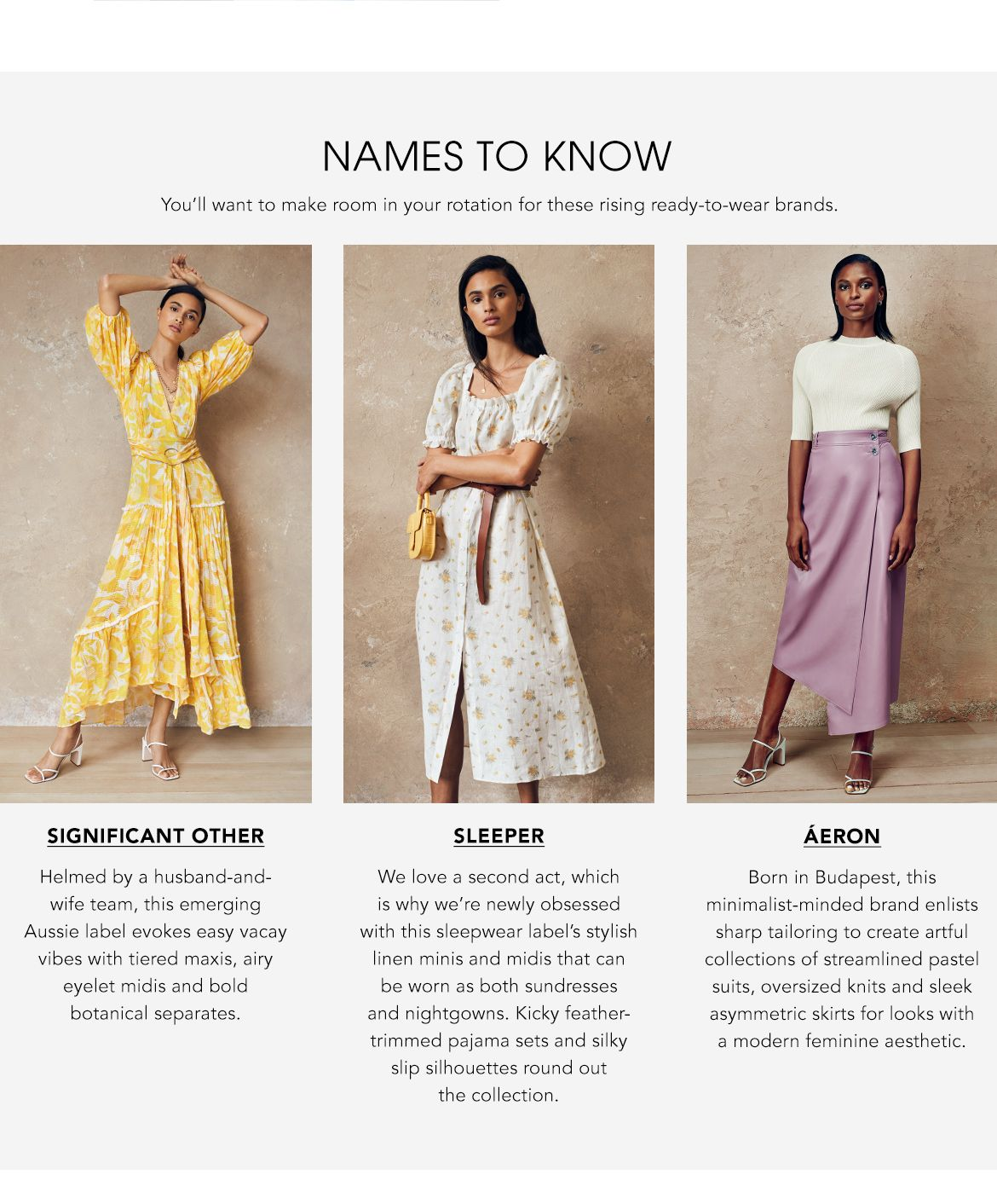 Explore Names to Know