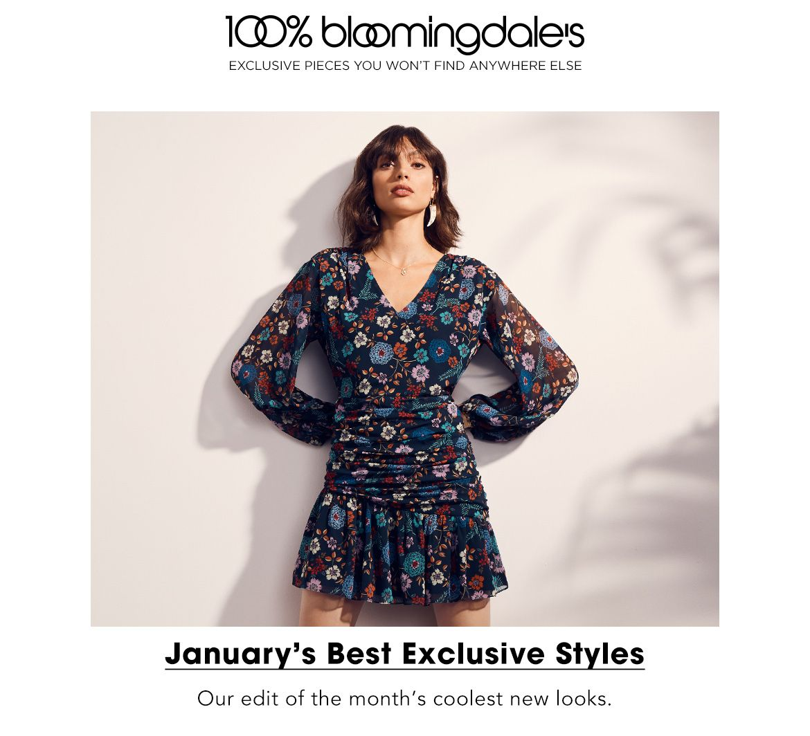January's Best Exclusive Styles