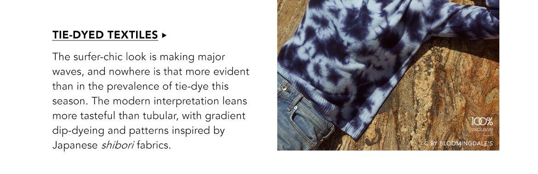 Explore Tie-Dyed Textiles