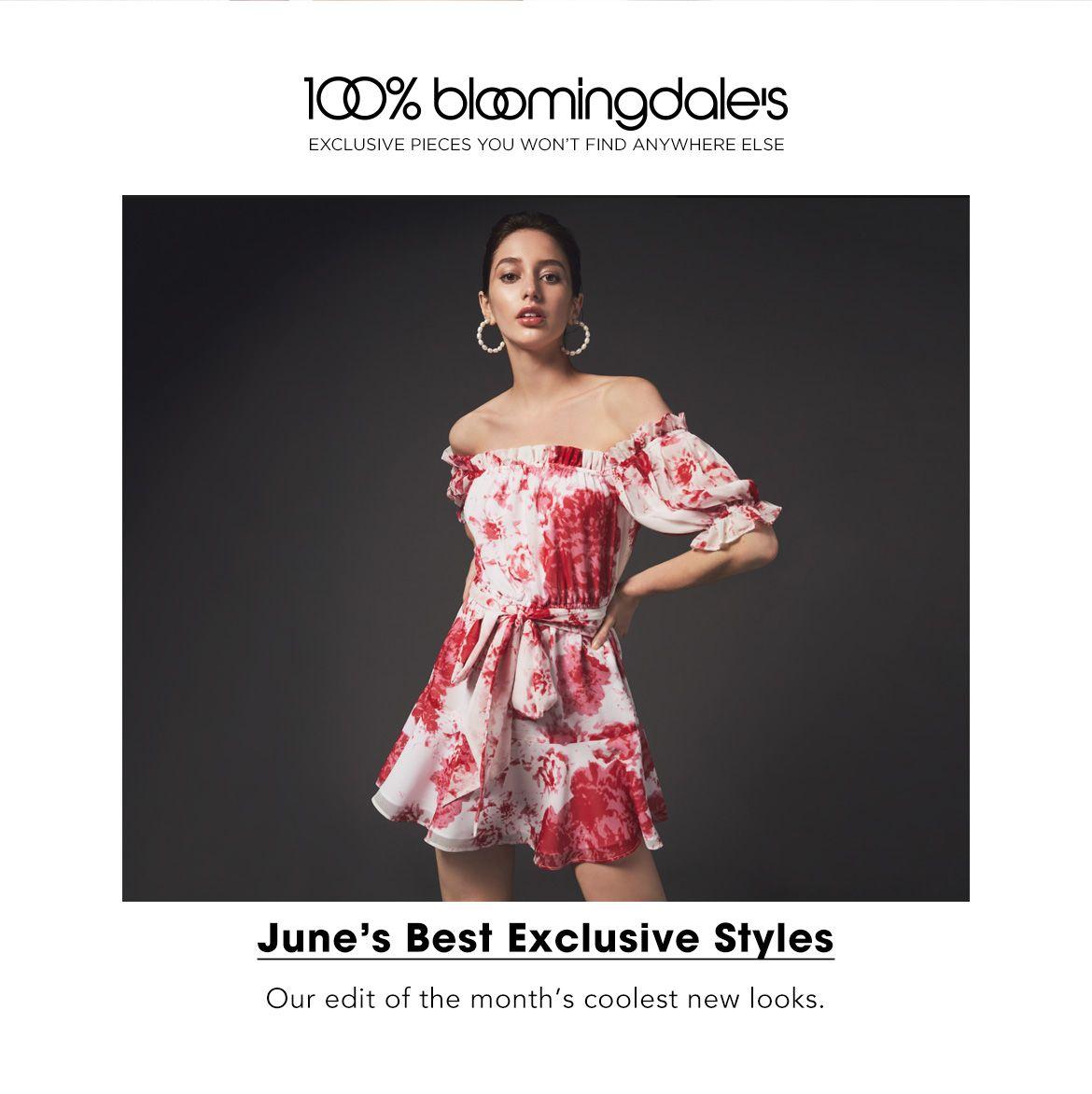 June's Best Exclusive Styles