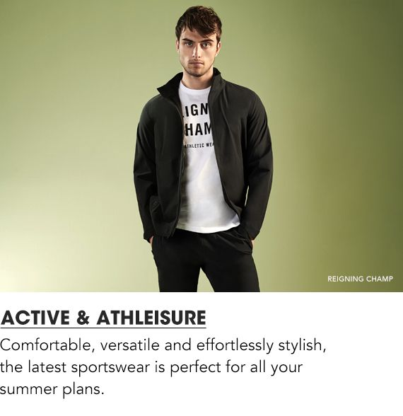 Shop Active and Athleisure