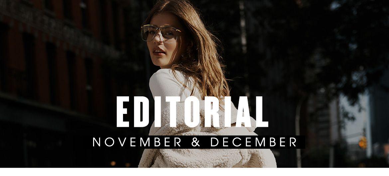 Editorial, November and December