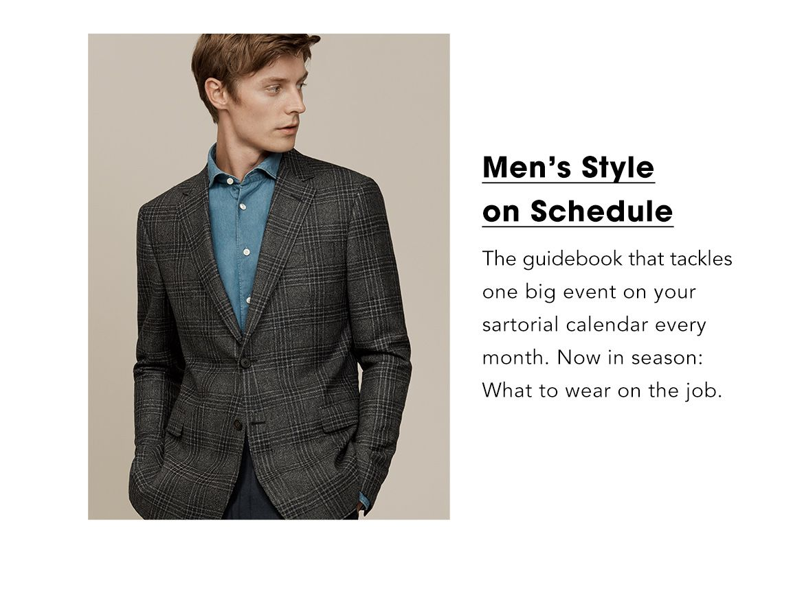 Men's Style on Schedule