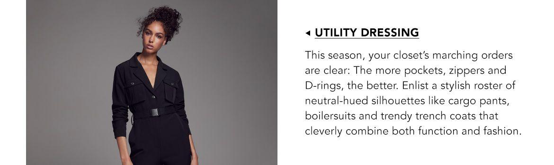Explore Utility Dressing