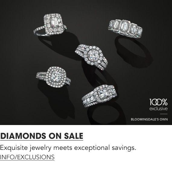 Diamonds On Sale