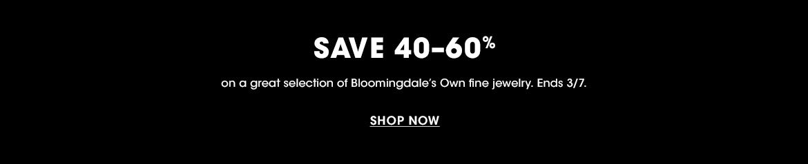 Bloomingdale's Own Fine Jewelry