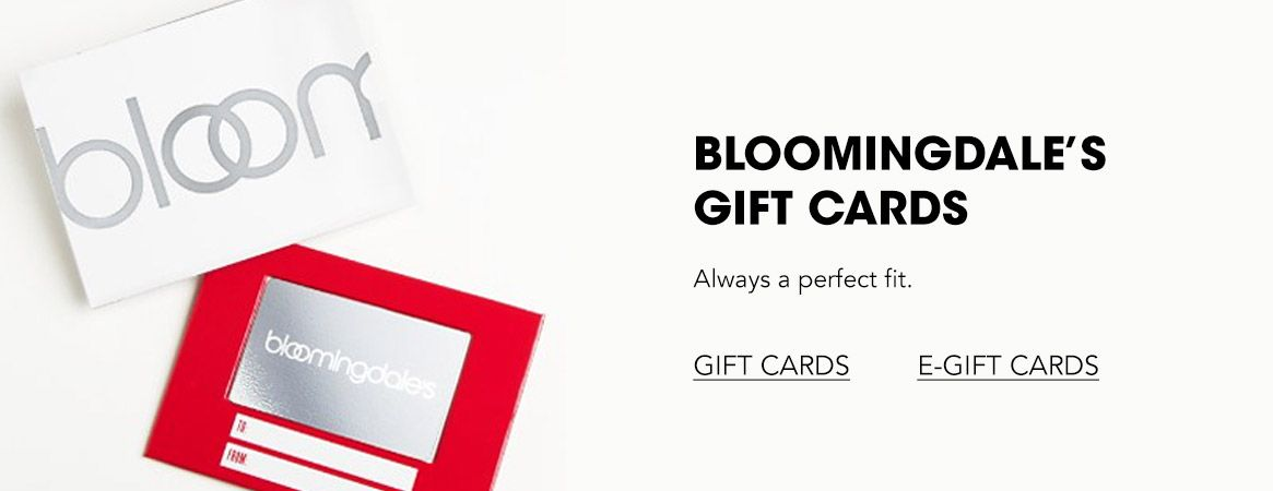 Bloomingdale's Gift Cards. Always a perfect fit.$$gifts bloomingdales gift cards