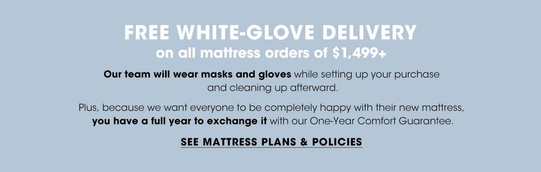 See Mattress Plans & Policies