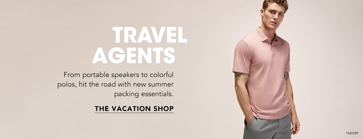 Shop Men Vacation Shop for Summer essentials
