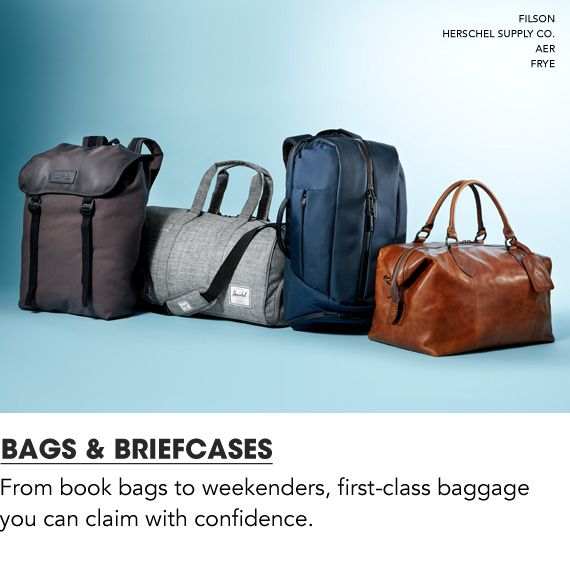 Shop Men Bags and Briefcases