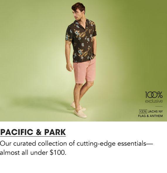 Shop Men Pacific and Park