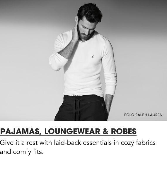 Shop Men Pajamas Loungewear and Robes