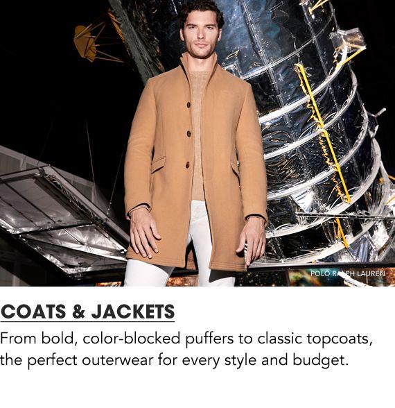 Shop Men Coats and Jackets