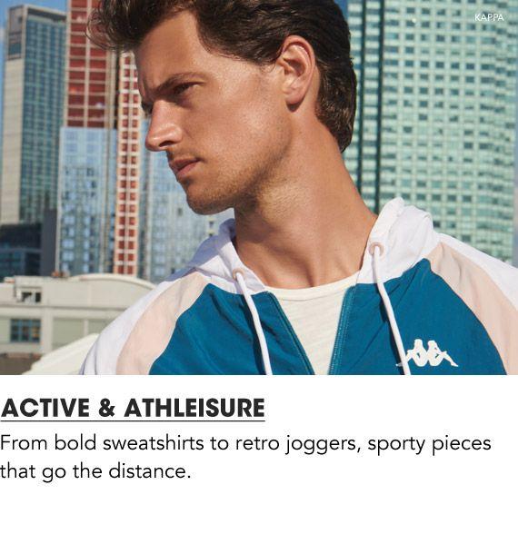 Shop Men Active and Athleisure