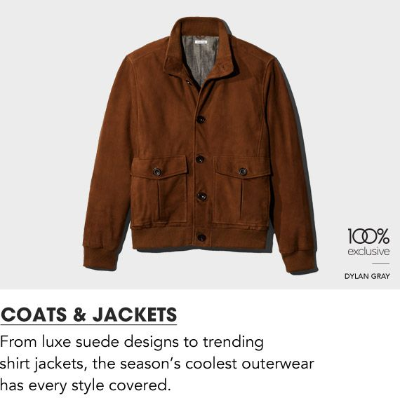 Shop Mens Coats and Jackets