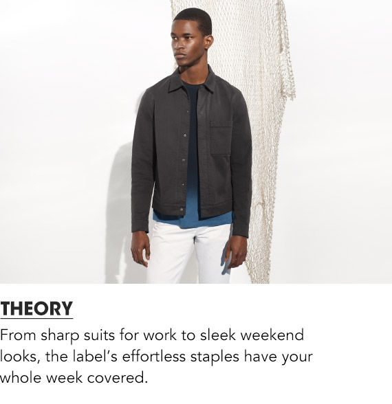 Shop Men Theory