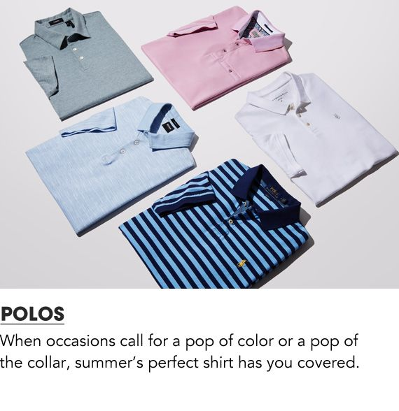 Shop Men Polos
