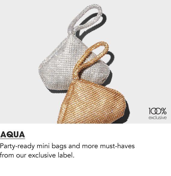 Aqua Handbags