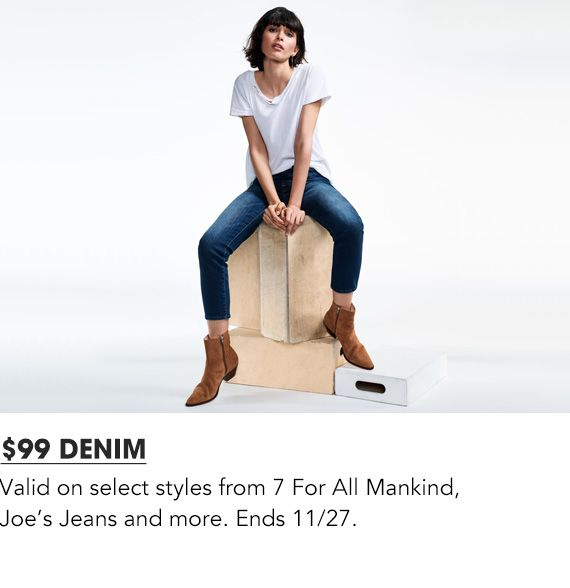 Explore $99 Denim