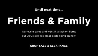 Bloomingdales friends and family promo code
