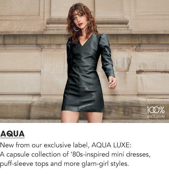 Explore Aqua Women's Clothing