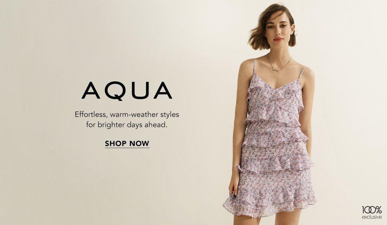 Explore AQUA Womens Clothing