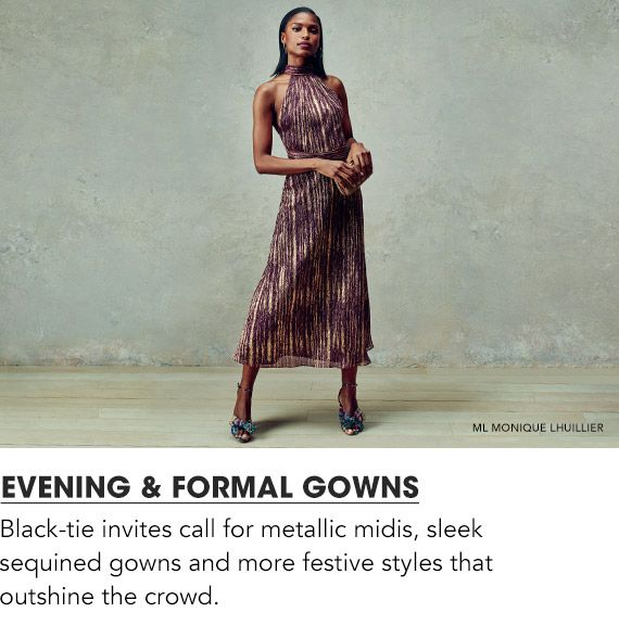 Explore Evening & Formal Gowns