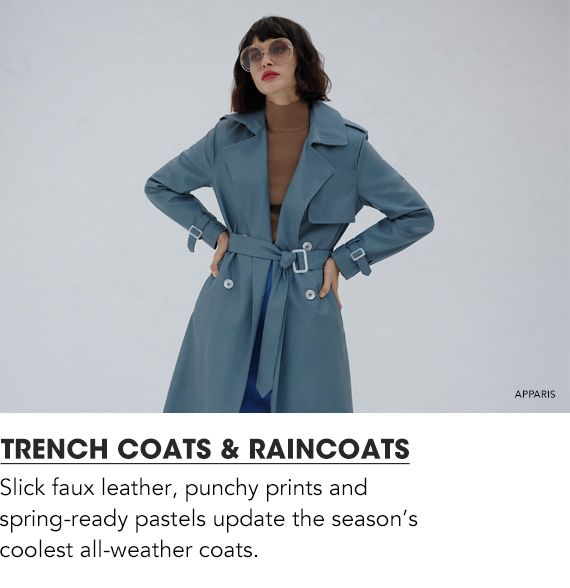 Explore Trench Coats & Raincoats