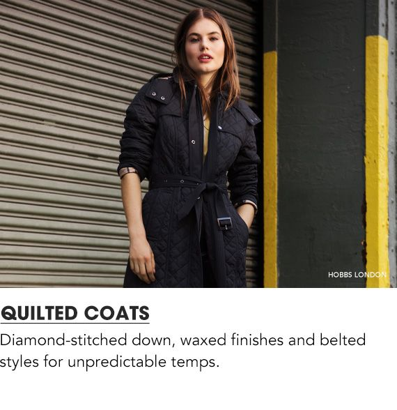 Explore Quilted Coats