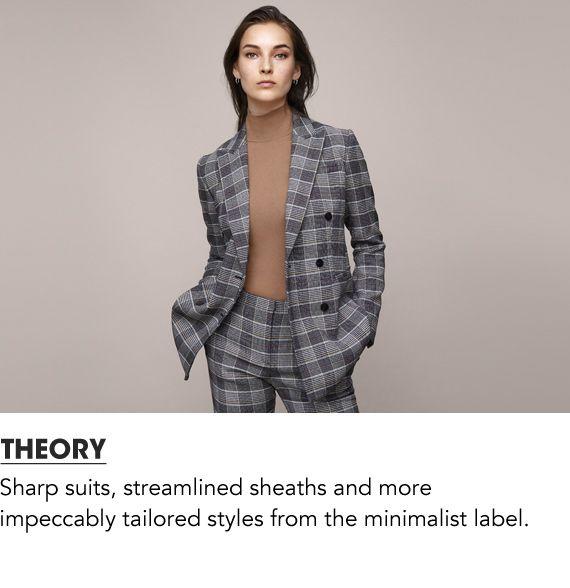 Explore Theory Women's Clothing