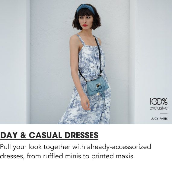 Explore Day & Casual Dresses