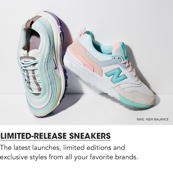 $Shop Limited Release Sneakers