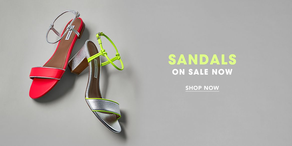 $Shop Sandals on Sale