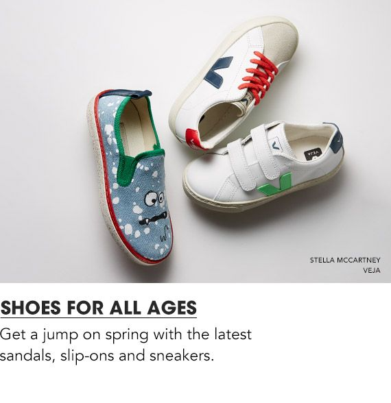 Shoes for All Ages