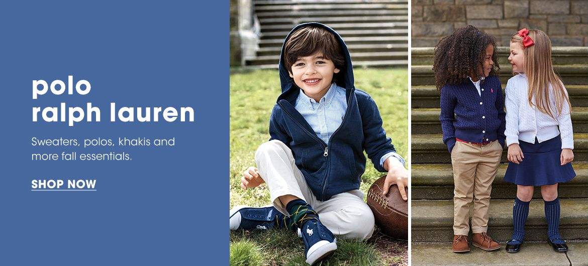 Polo Ralph Lauren. Sweaters, polos, khakis and more fall essentials.$$kids clothing polo ralph lauren